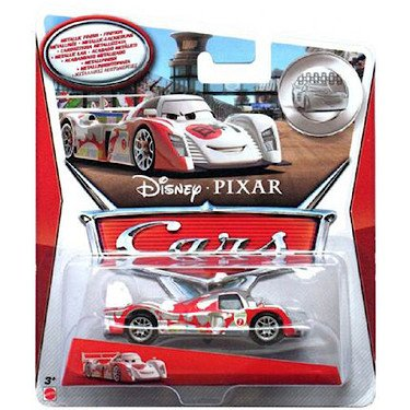 Disney/Pixar Cars, 2015 Exclusive Silver Racer Series, Shu Todoroki Die-Cast Vehicle, 1:55 Scale