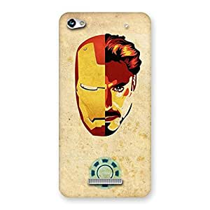 Gorgeous Genius Pwer Back Case Cover for Micromax Hue 2