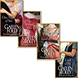 Gaelen Foley Gaelen Foley Knight Miscellany Series Collection 4 Books Set, (His Wicked Kiss, One Night of Sin, Lord of Ice and Lord of fire)
