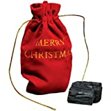 Christmas Lump of Coal (With Gift Bag)