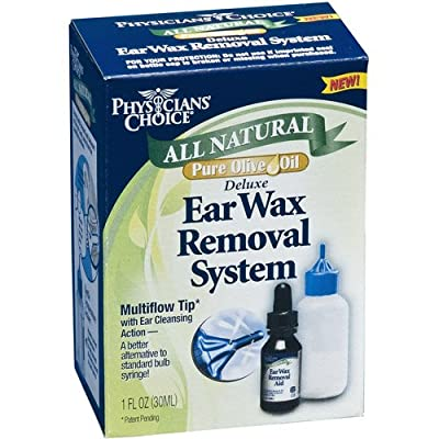 Physicians Choice Ear Wax Removal System, 2 by Physician's Choice
