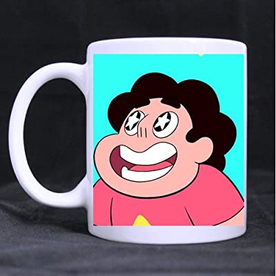 "Steven Universe Custom Ceramic White Mug Tea Coffee Cup 3.23""W x 3.74""H"