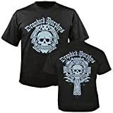 DROPKICK MURPHYS - Boston Skull - T-Shirt