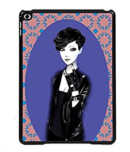 Printvisa 2D Printed Girly Designer back case cover for Apple iPad Air - D4178