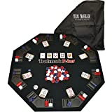 Trademark Poker Texas Traveller Table Top & Chip Travel Set