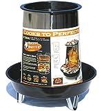 Landmann USA 590202 Rocket Roaster Porcelain and Steel