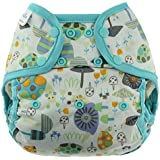 Blueberry Coveralls Diaper Covers, Snails, One Size