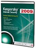 Kaspersky Internet Security 2009, DVD (1 PC, 1 Year subscriptions)