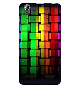 PrintDhaba Pattern D-4313 Back Case Cover for LENOVO A6000 (Multi-Coloured)