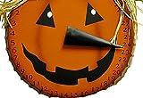 Halloween Countdown Metal Hanging Pumpkin Scarecrow