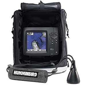 Humminbird 4089301 ICE 597Ci HD Combo DualBeam Fishfinder and GPS with SD Card Slot by Humminbird