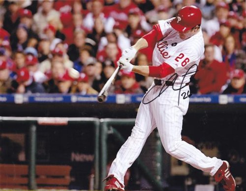 Chase Utley Signed Autographed 8 X 10 Photo Philadelphia Phillies at Amazon.com