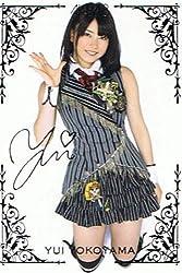 【AKB48 トレーディングコレクション】 横山由依 箔押しサインカード akb48-r156