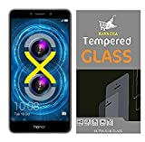 #8: Kavacha (TM) For Huawei Honor 6X Tempered Glass With Alcahol Wet Cloth Dry Cloth, Ultra Clear, Free Bubble,Anti Explosion,Pro+ 2.5D Pro Tempered Glass for Huawei Honor 6X