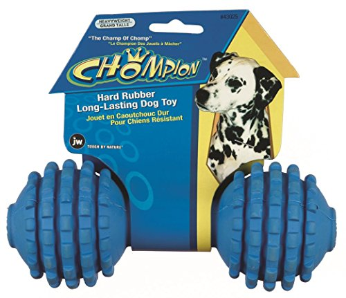 JW Pet Company Chompion Heavyweight Dog Toy (Colors Vary) (Jaw Pet Company compare prices)