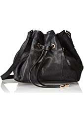 Lauren Merkin Peyton Shoulder Bag,Black,One Size