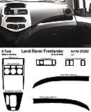 Prewoodec Cockpit Dekor f�r Landrover Freelander Mod. 2001 08.2000 - 08.2010 Wei� (Exklusive 3D Fahrzeug-Ausstattung - Made in Germany)