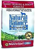 Natural Balance L.I.D. Limited Ingredient Diets Sweet Potato & Bison Formula Dry Dog Food, 26-Pound