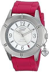 Juicy Couture Women's 1901197 Rich Girl Analog Display Quartz Pink Watch