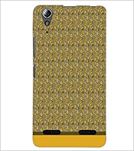 PrintDhaba Typography D-1785 Back Case Cover for LENOVO A6000 PLUS (Multi-Coloured)