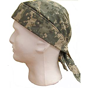 THERMO-COOL TIE HAT/DOO RAG - Army ACU Digital - Made in the USA