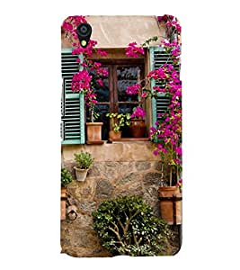 Beautiful Vintage Window 3D Hard Polycarbonate Designer Back Case Cover for OnePlus X :: One Plus X :: One+X