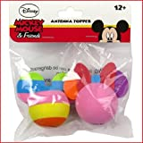 Neon Mickey & Icon Minnie Antenna Toppers