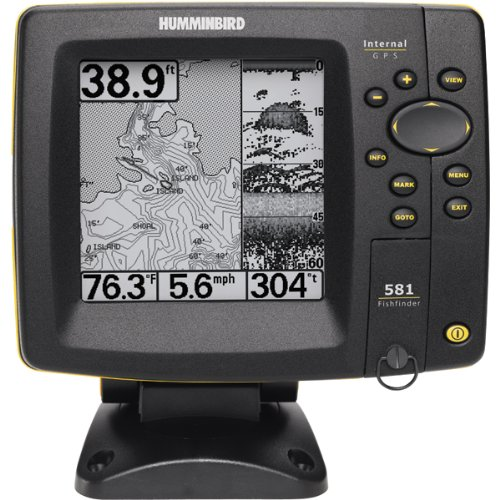 Humminbird fishfinder 581i combo reviews and ratings for Amazon fish finder