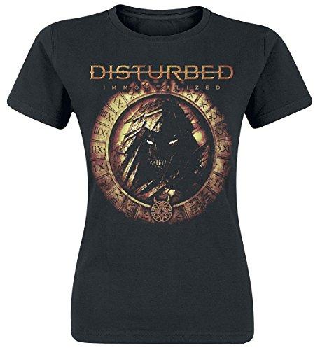 Disturbed Immortalized Maglia donna nero M