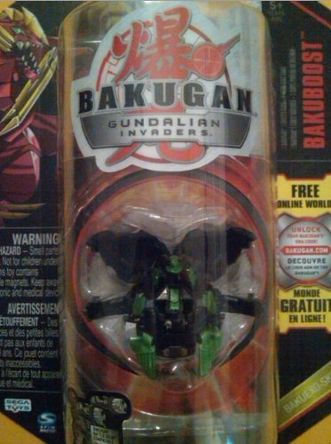 Bakugan Gundalian Invaders Bakuexo Skin Darkus Black Rubanoid 750g [New, in Package] - 1
