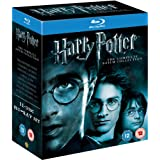 Harry Potter - The Complete 8-Film Collection [Blu-ray] [2001] [Region Free]by Daniel Radcliffe