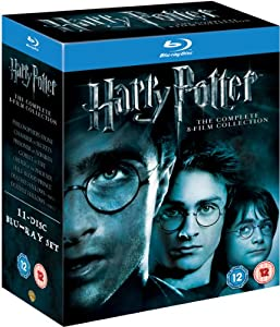 Harry Potter - The Complete 8-Film Collection [Blu-ray] [2001] [Region Free]