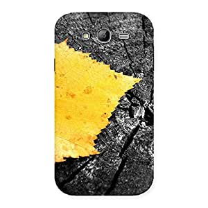 Delighted Lonely Leaf Multicolor Back Case Cover for Galaxy Grand