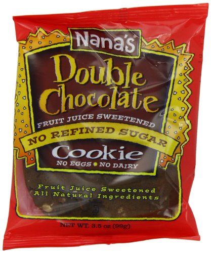 Nana's Cookie, Double Chocolate, 3.5-Ounce Packages (Pack of 12)