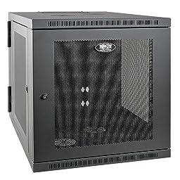 Tripp Lite 12U Wall Mount Rack Enclosure Server Cabinet, Hinged, 32.5\