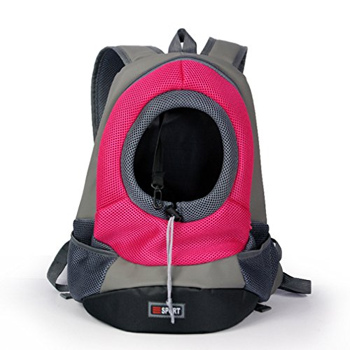 Lnhome Pet Carrier Portable Outdoor Travel Backpack Dog Cat