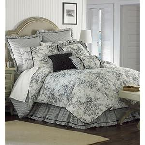 Blanket America Floral Toile 4-Piece Comforter Set