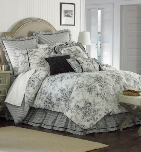 Buy Blanket America Floral Toile 4 Piece Comforter Set King Annamarv S Diary