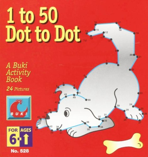 Dot to Dot 1 to 50 Dog