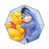 Customized Big Surprise Umbrella DIY Good Quality Winnie the Pooh and Eeyore Cartoon 43.5 inch Auto Foldable Umbrella