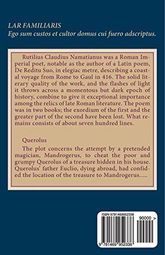 De reditu suo sive Iter Gallicum: Querolus