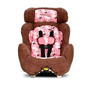 Learning Curve True Fit Convertible Car Seat, Pink Butterfly (Discontinued by Manufacturer)