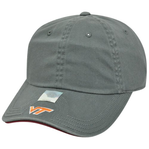 NCAA American Needle Virginia Tech Hokies Flambam Women Ladies Hat Cap Grey by Official Collegiate Licensed Product