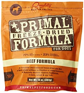 Primal Pet Foods Freeze-Dried Canine Beef Formula