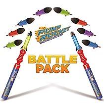 Pump Rocket Mini Battle Pack (includes 2 Launchers + 10 Rockets Total)