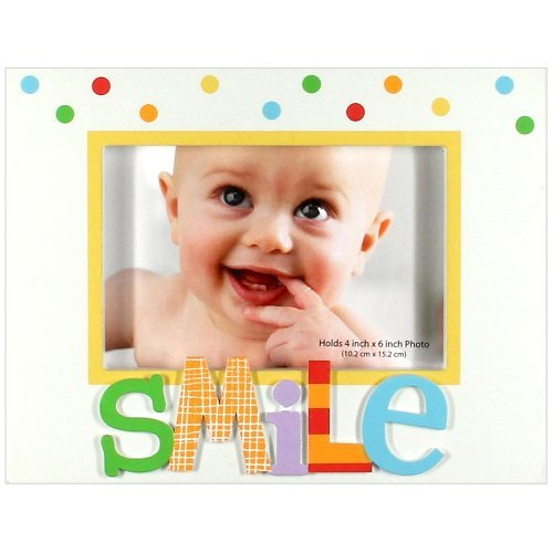 """C.R. Gibson Alphabet Animals """"""""Smile"""""""" Picture Frame front-1041676"""