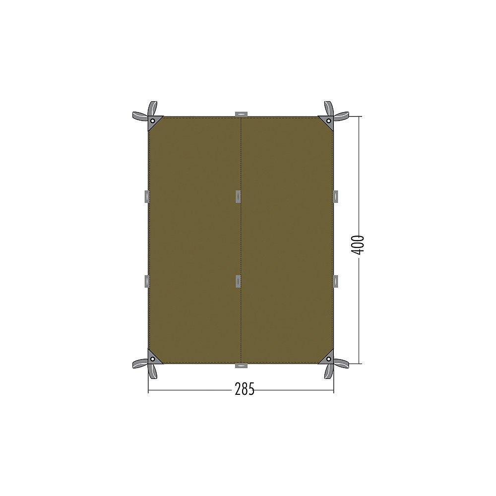 Tatonka Sonnensegel Tarp 4, Bazil, 285 x 400 cm, 2493   Kundenbewertung und weitere Informationen