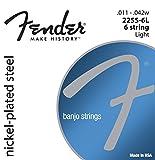 Fender � 6 cordes pour Banjo-Tirant Light - 011-042 2255L