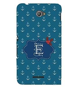 EPICCASE anchor of E Mobile Back Case Cover For Sony Xperia E4 (Designer Case)