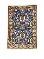L'Eden del Tappeto Alfombra Varamin Azul / Multicolor 154  x  103 cm